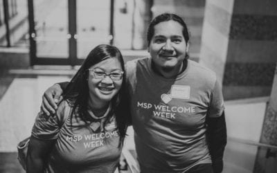 Connections abound at first MSP Welcome Week