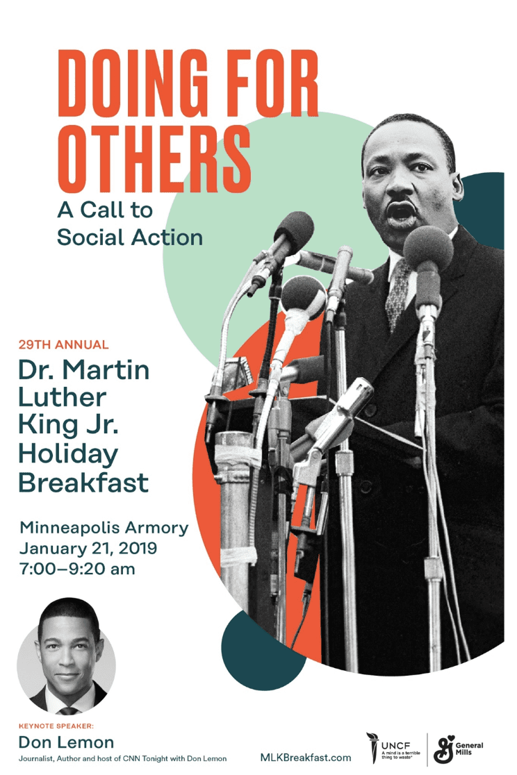 Dr Martin Luther King Jr Holiday Breakfast Make It Msp